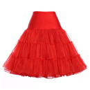 2 PCS Wholesale TOPTIE Women's Petticoat Vintage Swing Dress Crinoline Underskirt Tutu Skirt