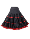 TOPTIE Women's Vintage Rockabilly Petticoat Skirt Tutu 1950s Underskirt Bridal Party Cosplay Dress
