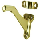 Ives 059A3 Ives Handrail Bracket X Bright Brass-#