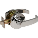 Sargent 6500 Series U15 Passage Lever Lockset, #808 Strike, Latch By Either Lever, K Rose L Lever, Us26 Bright Chrome Finish