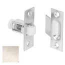 Ives 336 Roller Catch, Wrought Brass Substrate, 619 Satin Nickel