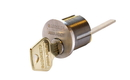 Sargent 34 Series Rim Type Cylinder, Ra Keyway. Us32 Stainless Steel. 6 Pin Standardhorizontal Tail Piece Only 27/32 Screw Pattern For Through-Bolted Sargent Exit Devices
