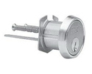 Sargent 34 Series Rim Type Cylinder, Rg Keyway. Us32D Satin Stainless Steel. 6 Pin Standardhorizontal Tail Piece Only 27/32 Screw Pattern For Through-Bolted Sargent Exit Devices