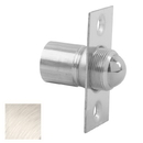 Ives 345 Ball Catch, Wrought Brass Substrate, 619 Satin Nickel