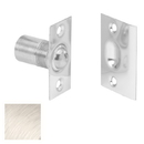 Ives 347 Dual Adjustable Ball Catch - Square Corners, Wrought Brass Substrate, 619 Satin Nickel