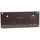 LCN 4040Xp Mounting Plate, Drop Plate, Narrow Top Rail For Pa Mounting, Dark Bronze (695)