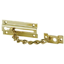 Ives 481 Chain Door Guard, Brass Substrate. 626 Satin Chrome