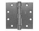Hager Full Mortise Commercial Hinge, Full Mortise Ball Bearing Standard Weight Steel Non-Removable Pin Commercial Hinge 4