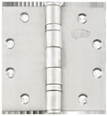 Cal Royal BB31 4.5 x 4.5 Stainless Steel Full Mortise Hinge -Non Removable Pin