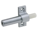 Ives Cl14 Invisible Latch, Auxiliary Pusher, Brass Substrate. 626 Satin Chrome