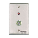 Securitron Pb4 Series Push Button, Pb4L-2 Model, Momentary Switch, Single Gang, Double Pull/Throw