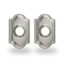 Yale Residential Traditional Rosette For Knob, Traditional Rosette For Knob In Satin Nickel