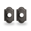 Yale Residential Traditional Rosette For Knob, Traditional Rosette For Knob In Gun Metal
