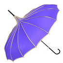 TopTie Peak Shaped Umbrella Wedding Parasol Bridal Umbrella Windproof Waterproof