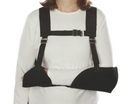 AliMed 5877- Hemi-Arm Sling - Black - Left