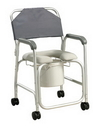 AliMed 70194- Aluminum Shower Chair/Commode