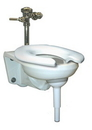 AliMed 710145- Wall-Mounted-Toilet Support