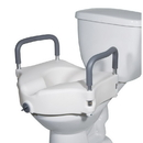 AliMed 710537- Two-in-One Locking Elevated Toilet Seat