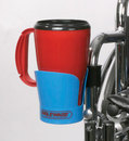 AliMed 80125- Wheelchair Cup Holder - Blue