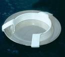AliMed 813412- Large Plastic Plate Guard - cs/12