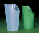 AliMed 8147- Nosey Cutout Glass - Blue - 12 oz.