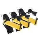 GOGO 3Packs X 12-Rung Speed Agility Ladders Feet Training Equipment For Soccer Speed Football