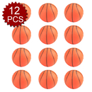 GOGO 12PCS Foam Sports Ball, Stress Relief Squeeze Basketball