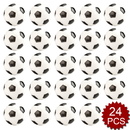 GOGO 24PCS Foam Soccer Toy Stress Relief Squeeze Ball
