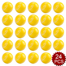 GOGO 24PCS Tennis Squeeze Ball, Stress Relief Hand Exercise Grip Ball