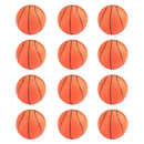 GOGO 12 Pieces Basketball Stress Relief Balls, Squeeze Balls Hand Grips