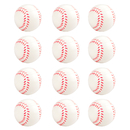 GOGO Foam Sports Balls, 12 Pieces Baseball Shaped Squeeze Balls