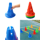 12inches Collapsible Sport Soccer Training Cones Hurdles Markers Wholesale--Each is $0.91