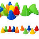 Wholesale GOGO 100Pcs 3.1 Inches PVC Bright-Colored Slalom Cones for Skating Running Marker Mini Track