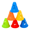 GOGO 100Pcs Multi-Purpose Sport Training Traffic Flexible Cones, Activity Cone for Kid and Adult - 3.3 Inch