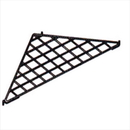 AMKO Displays 16-001WH Grid Triangular Shelf, 24