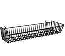 AMKO Displays BSK12/WTE Double Sloping Basket, 24