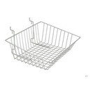 AMKO Displays BSK16/CH Sloping Basket, 15