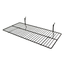 AMKO Displays BSK2412/BLK Wire Shelf