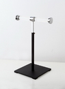 AMKO Displays CSR-T1 Single Jewelry Stand, Base: 7