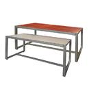 AMKO Displays CT6050-CM Wood Table Set- Reversible