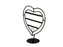 AMKO Displays FA-290 Antique Style Heart Earring Display, 10