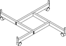 AMKO Displays GPB/4BA 4-Way Base For W/ Casters, Thread 3/8