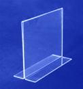 AMKO Displays HP/CT57H-BL Top/Bottom Load Sign Holder, BOTTOM5
