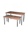 AMKO Displays IRS4223 Antique Wood Table, SMALL