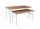AMKO Displays PL-TLBL(MW) Nesting Table- Large