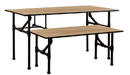 AMKO Displays PL-TLBL Nesting Table, 60