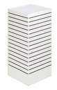 AMKO Displays SM-CD(W) Slatwall Cubic Tower, 24