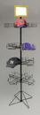 AMKO Displays SPCAP4 Floor Cap Display, 64