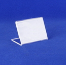 AMKO Displays SPH32 Clear Business Card Holder, 3 1/2