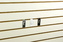AMKO Displays SPW/NHK Notch Hook, For Slatwall, White